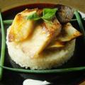 料理メニュー写真西京焼きのレモンリゾット添え