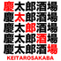慶太郎酒場 高田馬場店のロゴ