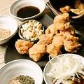 料理メニュー写真鶏の唐揚げ 壺振りシェイク