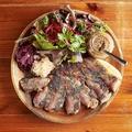 料理メニュー写真茨城ローズ豚 厚切りロース肉 300g