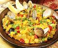 料理メニュー写真バレンシア風パエリア