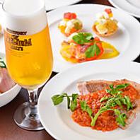 和食やイタリアン…多彩なジャンルのお料理が選べます☆