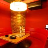 ボックス席がイチオシ♪4名~6名様席が充実★U字型のボックス席は2名様~お使いいただけます。雰囲気もよく、デートや女子会等にお使いください!結婚式の二次会でのご利用も飲み会は是非甘太郎 新宿歌舞伎町店へ♪お得な飲み放題付きコースも多数ご用意しております!