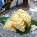 料理メニュー写真◆季節の旬料理◆とうもろこし!(冷やしもろこし かき揚げ)