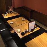 デートや会社宴会にも最適なテーブル席をご用意♪☆