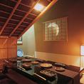 風流な茶室は隠れ家のような特別感。