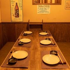 【テーブル個室】個室のテーブル席席。思わずほっとするような空間は居心地◎