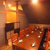 宴会には完全個室がおすすめです。