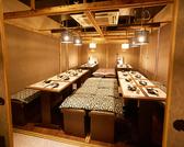選べる4つの【コンセプトエリア :完全個室】完全個室&セパレートBOX個室『和&洋』 選べる秘密の完全個室。2~80名様でご対応。特に歓送迎会・合コンetcに最適♪2名~OKの完全個室。駅直結で、雨にも濡れずゆったりと落ち着ける店は、各種お席をご用意会社宴会、女子会、同窓会、ご友人とのちょっとしたお食事会にも