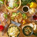 国産牛や黒豚や地鶏を中心にした当店のコース料理は3時間飲み放題付きで2980円からOK!厳選した食材とお酒をたっぷりご堪能ください。
