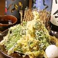 料理メニュー写真地野菜の天ぷら