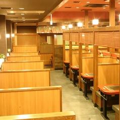 広々した店内は総席数100席以上ございます!