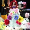 料理メニュー写真【サプライズに☆】ドールケーキでお祝い♪出来るのは神戸でここだけ!!