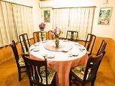 円卓を囲んで本格四川料理をご堪能!