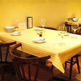 【最大3~4名様】テーブルのお席です。