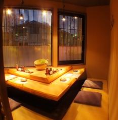 【1階】角のカウンター風個室は1室限定!