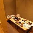 掘りごたつ個室