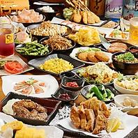 人気の高い食べ飲み放題3200円