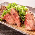 料理メニュー写真牛ハラミ焼き ネギポン酢