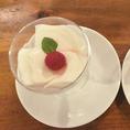 デザートもございます。食後に是非お召し上がり下さい!