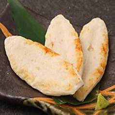 料理メニュー写真炙り笹かまぼこ