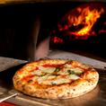 イタリア ナポリピッツァ専用の石窯で焼く本格ナポリピッツァ!!当日のご予約もお待ちしております♪