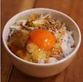 料理メニュー写真特製たまごかけご飯