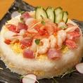 寿司ケーキサービス始めました!還暦のお祝いやあらゆる記念日に…大好評の寿司ケーキをご用意いたします。※一台3000円二日前まで要予約