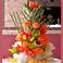 貸切特典:フルーツタワー無料プレゼント タイのカービングが施された豪華なフルーツタワーがなんと無料!!喜ばれること間違いなし!!