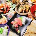 宴会・飲み会にピッタリの静岡料理を余すところなく堪能できるお得な飲み放題付のプランは3500円~ご提供します。静岡での宴会・飲み会は当店にお任せください。