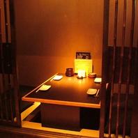 プライベート空間☆個室は予約がオススメ!
