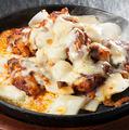 料理メニュー写真チーズプルタク