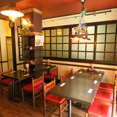 2名様席×2卓・2~4名様席×1卓・4~6名様席×1卓のテーブル席(計4卓)をご用意しています。友達やカップル・会社の同僚など、少人数でゆっくりお気軽にお食事・お酒をお楽しみ下さい。