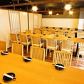 宴会個室は、最大34名様の宴会が可能♪個室でのご宴会ご希望の方はお早めに♪