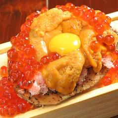 料理メニュー写真海の宝石箱!2代目「焼き味噌ウニ」