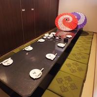 神田駅の宴会はゆったり落ち着ける和の個室空間居酒屋!