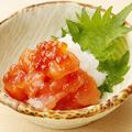 料理メニュー写真北海道産 秋鮭のルイベ漬け