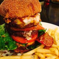 熔岩焼きハンバーガー