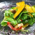 料理メニュー写真ルッコラと季節野菜のサラダ