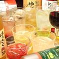 ◆贅沢飲み放題◆通常のご宴会コースに+500円で、飲み放題の対象ドリンクを約50種類⇒約100種類にランクアップ致します!サワーやカクテルなどの定番ドリンクはもちろん、日本酒、焼酎まで2時間たっぷりお楽しみいただけます。普段よりすこし贅沢に過ごされたいときはこちらがオススメ♪