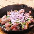 料理メニュー写真地鶏のコロコロ焼き