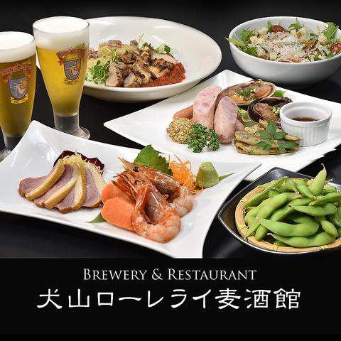 おいしい地ビールを落ち着いた眺めで味わえる店。ビールによく合う料理も魅力。