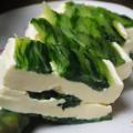 料理メニュー写真京菜のクリームチーズ寄せ