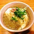 おぼろ豆腐の自然薯かけ 650円 (税抜)