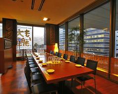 8~16名様用の半個室(椅子&テーブル)です。要予約の飲み放題付きご宴会&パーティーコースは4名様~承ります。