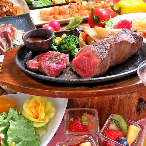 食彩美料理60種をビュッフェで♪「サ-ロインステ-キ」や「パネチキ」付プランが登場☆