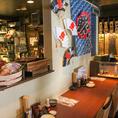 懐かしい雰囲気と共に、静岡の郷土料理を愉しむお席を多数ご用意しております。当店自慢のレトロな雰囲気と共に普段以上に愉しいお酒の場をご提供します。