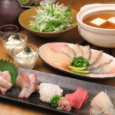 博多炉端スタイル 笑う魚のコース写真
