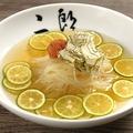 料理メニュー写真名物二郎冷麺