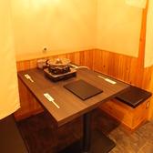 【1F】テーブル個室は数多くご用意!ちょっとした会社宴会やお食事会にも★4~12名まで対応可能!
